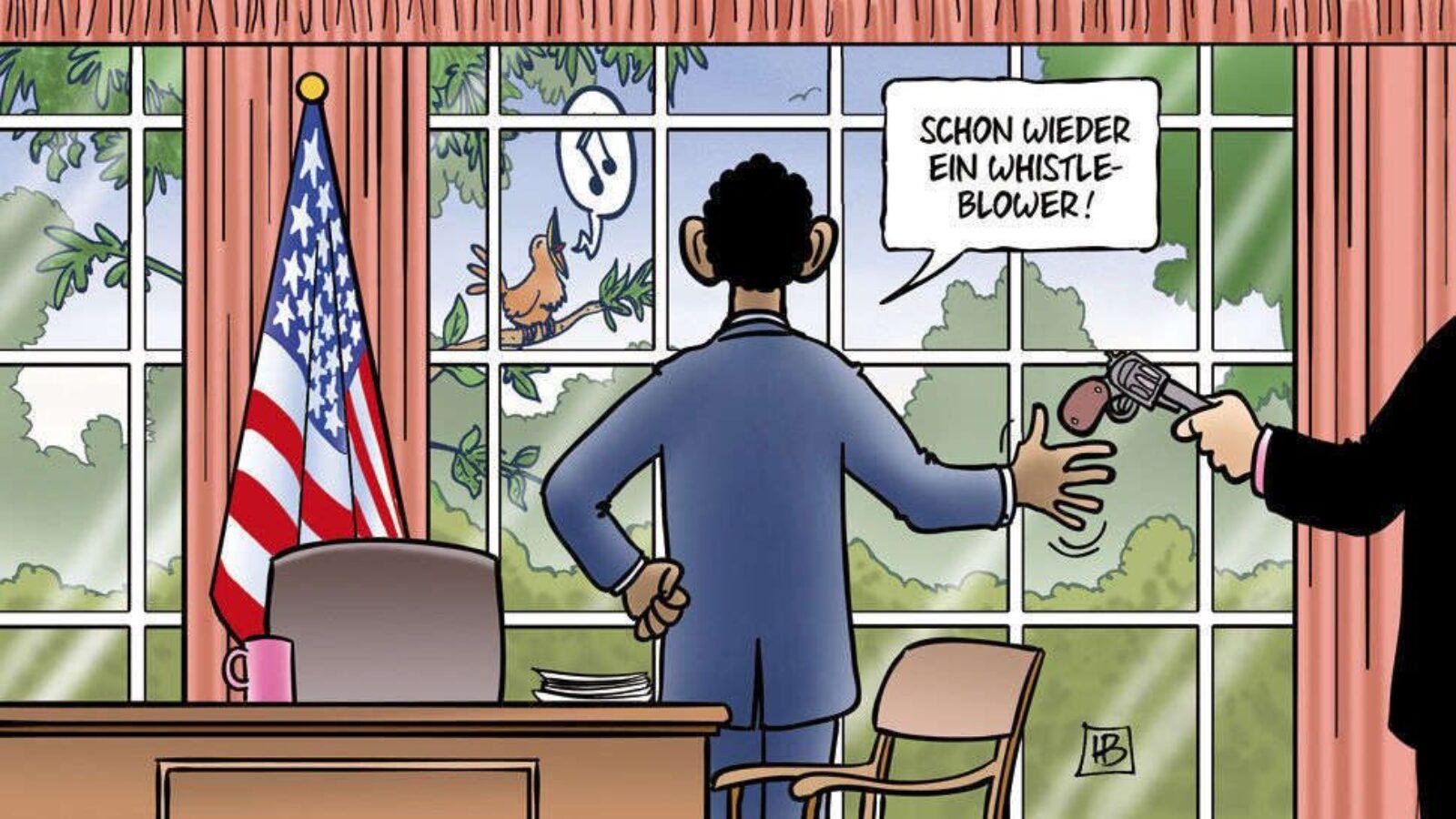 Jagd auf Whistleblower …