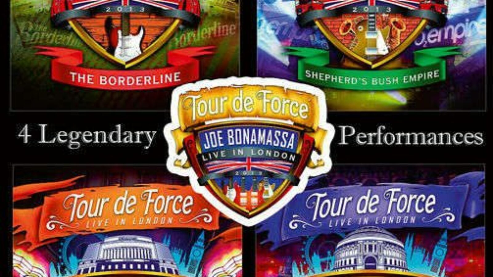 JOE BONAMASSA – Tour De Force (DVD/Blu-ray)