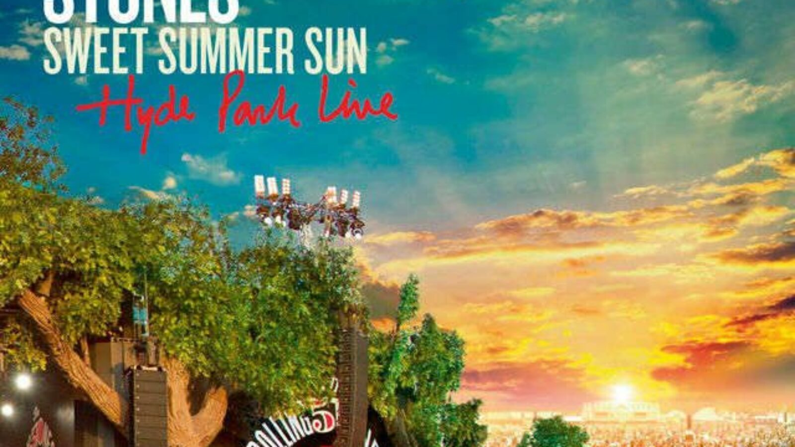 THE ROLLING STONES – Sweet Summer Sun – Hyde Park Live (DVD/Blu-ray/CD)