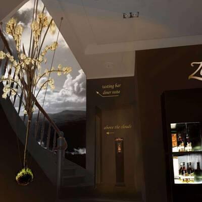 Zacapa ROOM HH Treppen EG 400x400 - Zacapa Tasting Club 26.11.-18.12.