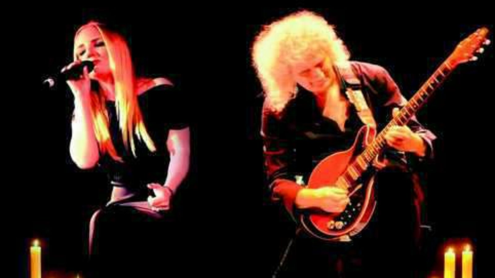 BRIAN MAY & KERRY ELLIS The Candlelight Concerts (DVD+CD/Blu-ray)