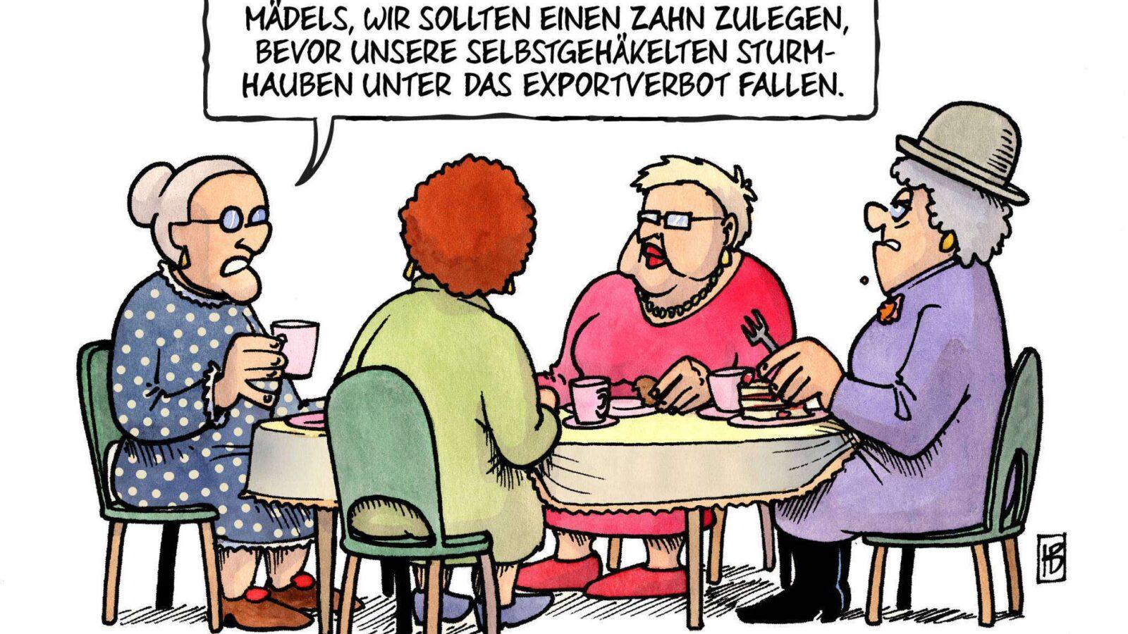 Sturmhauben-FARBE