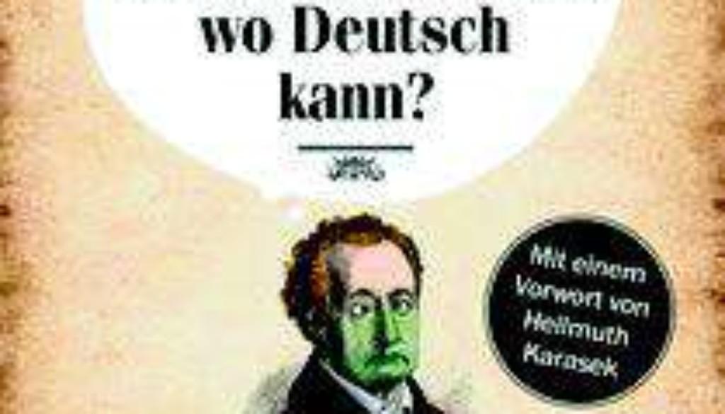 Bin ich der Einzigste hier wo Deutsch kann