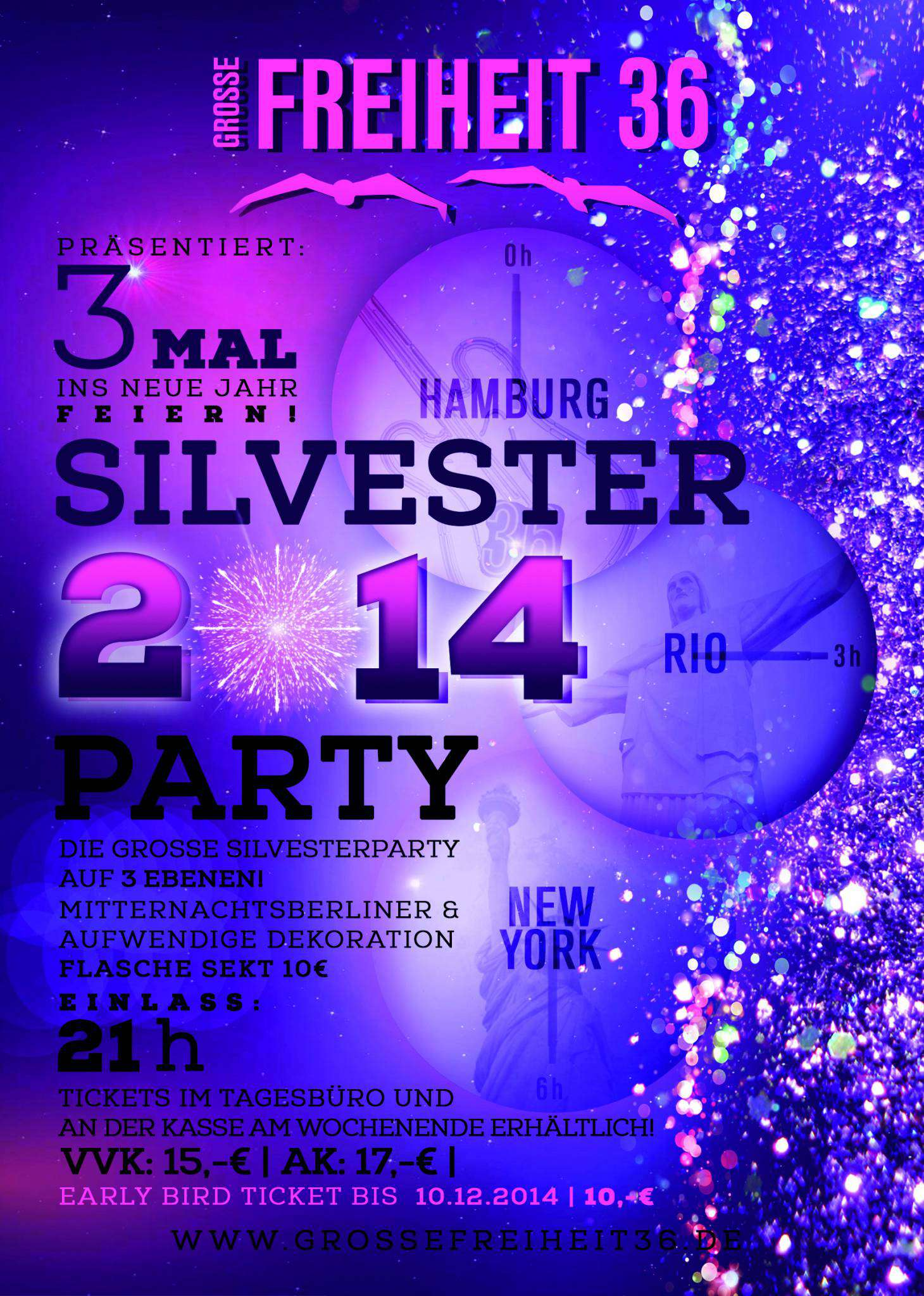 Silvester 2014 hamburg single party