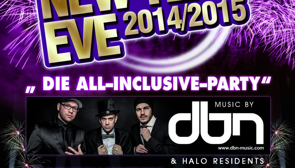 Halo's All inclusive New Years Eve