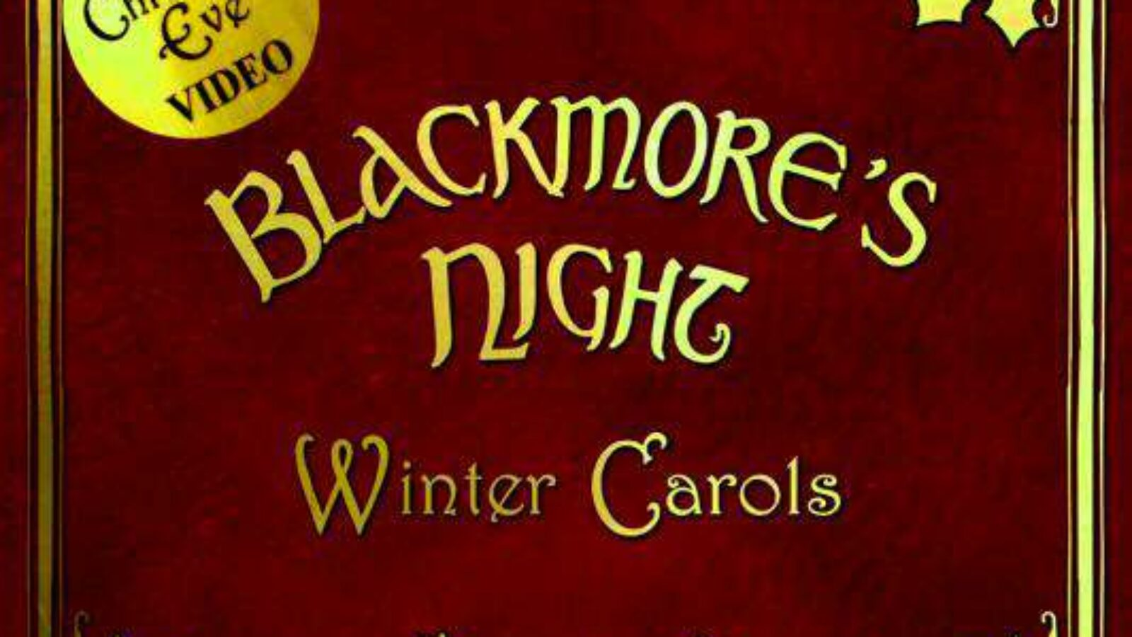 BLACKMORE'S NIGHT Winter Carols