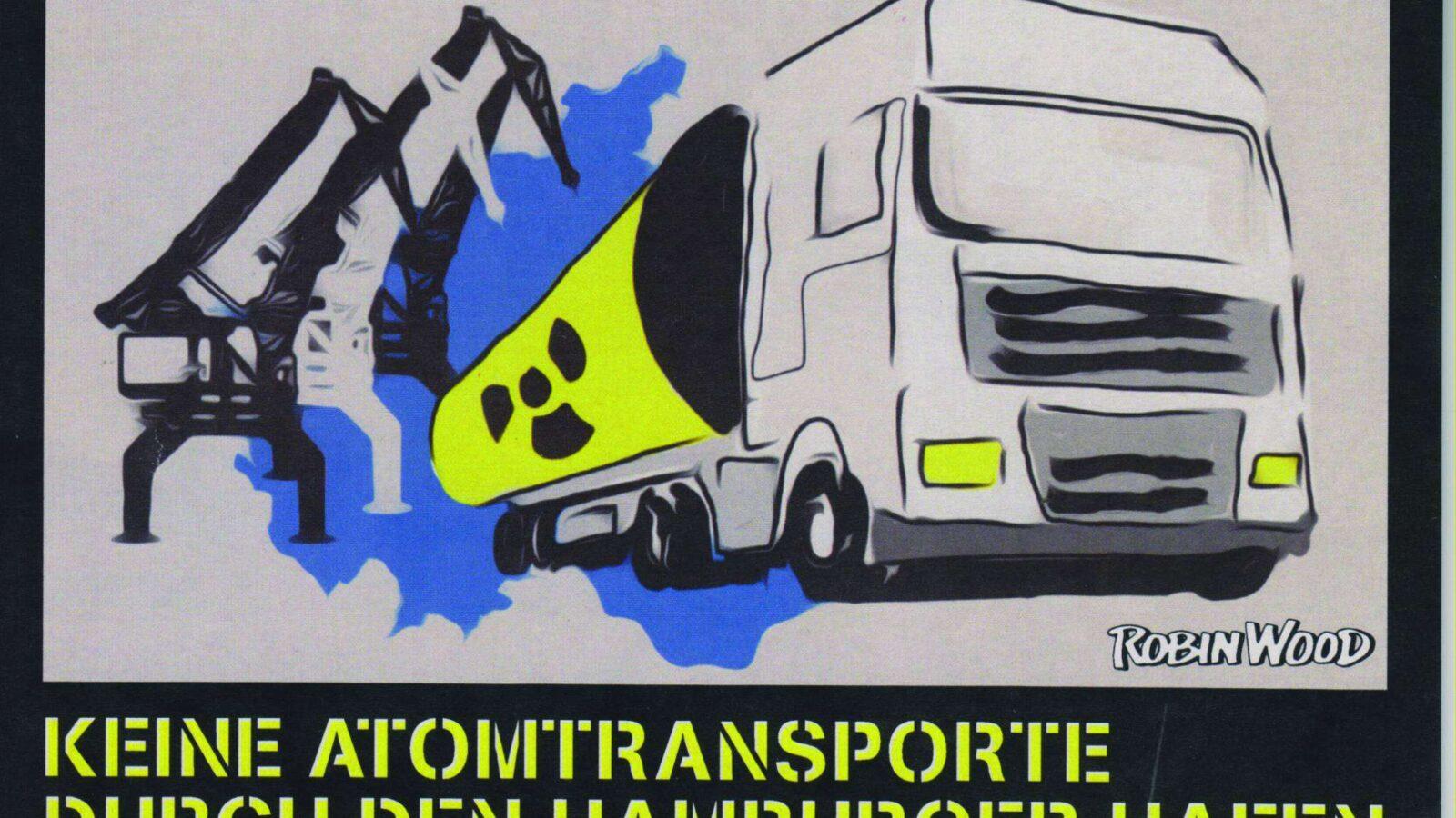 Atomtransporte durch Hamburg