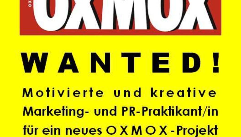 OXMOX-Praktikatensuche 1