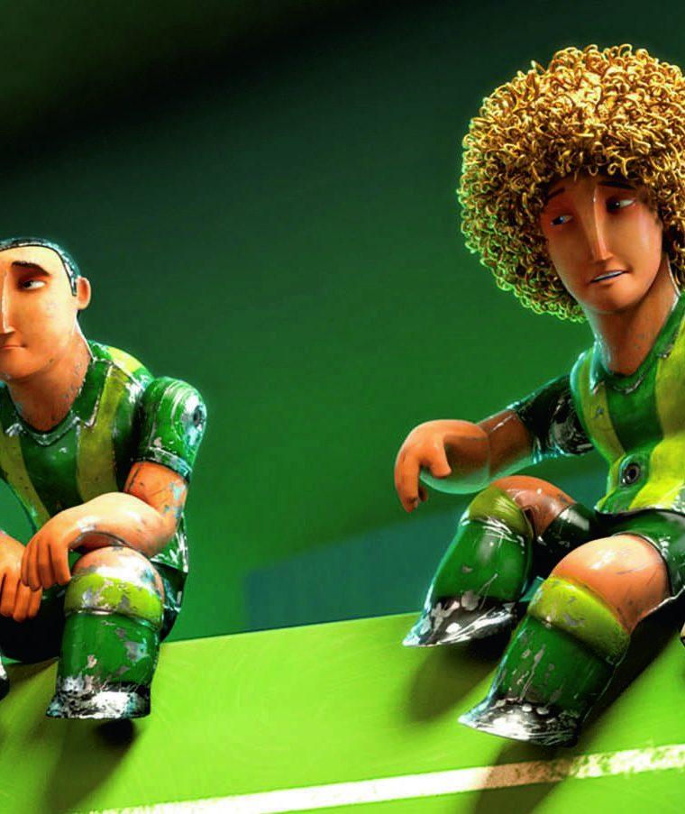 Fußball Großes Spiel Mit Kleinen Helden 3d Oxmox Hamburgs