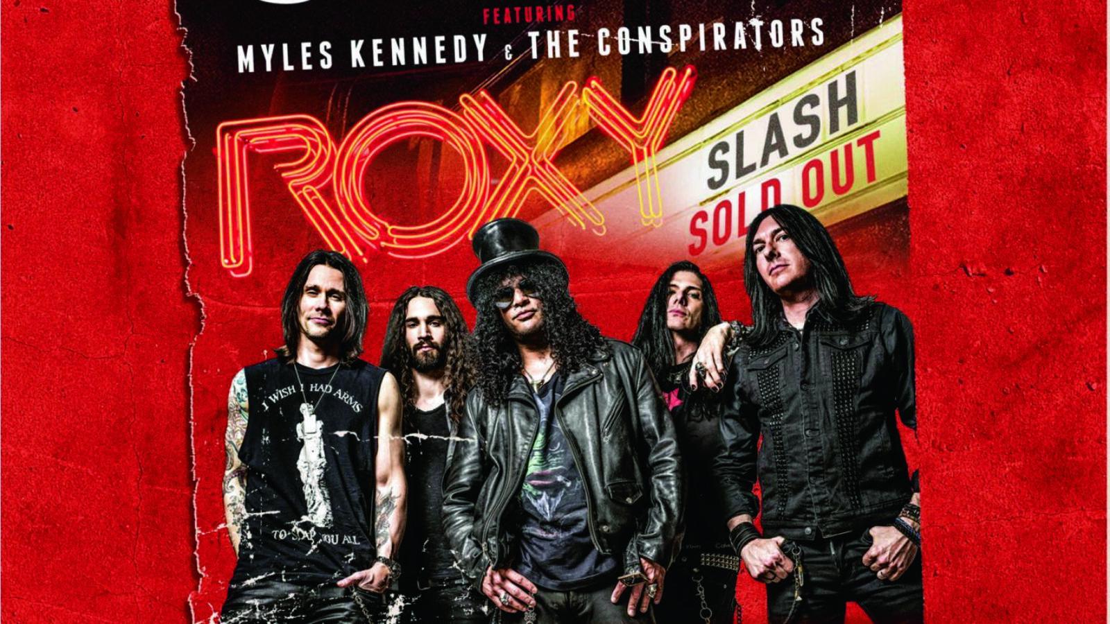 OXMOX CD-Tipp: SLASH – Live At The Roxy 25.9.14