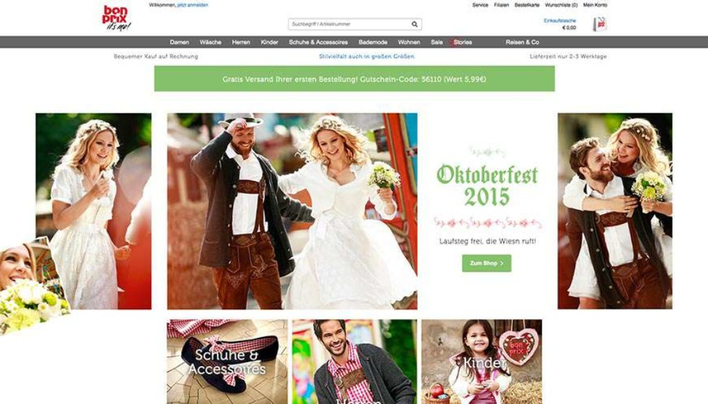 bonprix-website