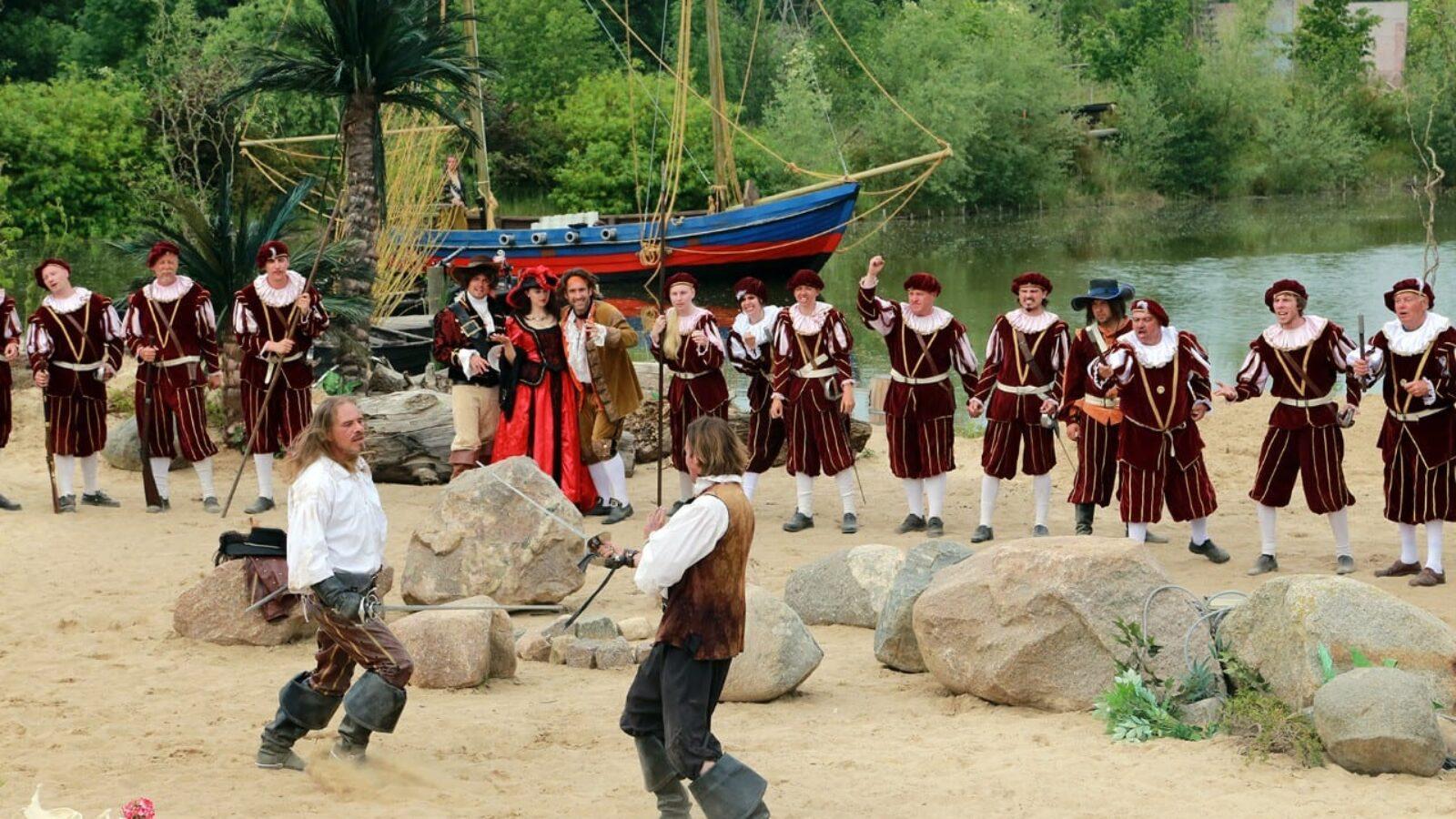 Piraten Action OpenAir Theater: Flaute