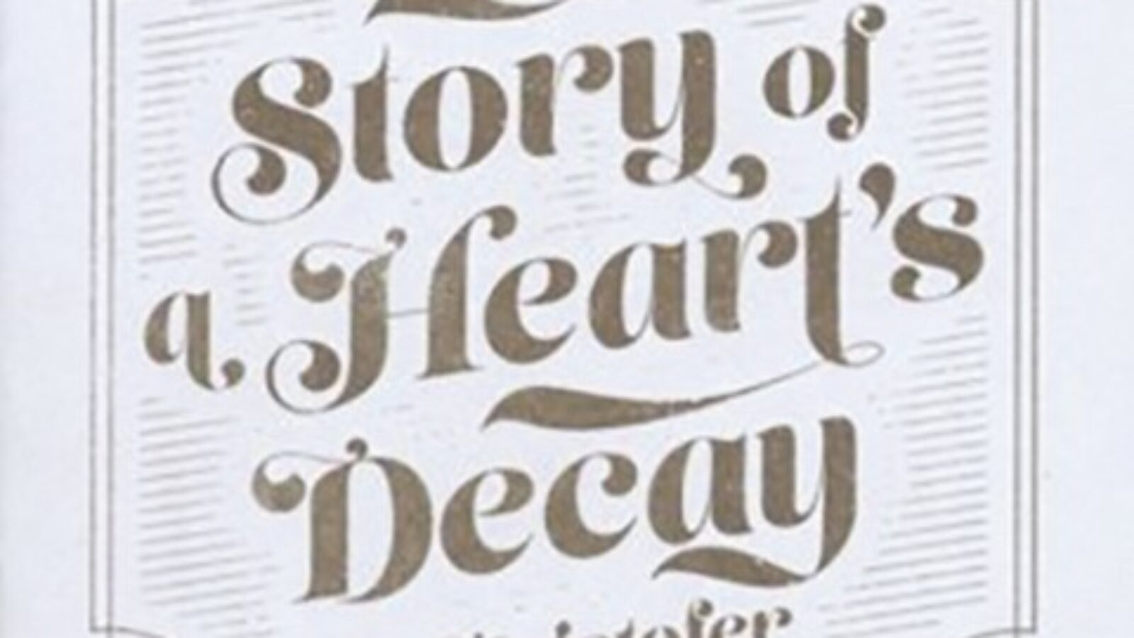 OXMOX CD-Tipp: KRISTOFER ASTRÖM, The Story Of A Heart's Decay