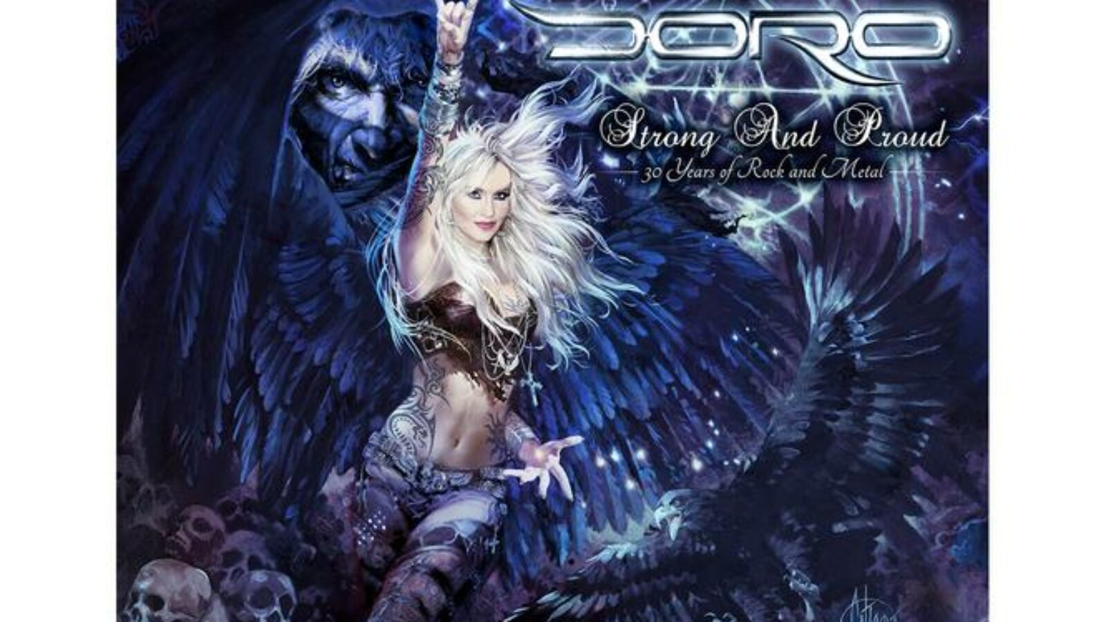 OXMOX CD-Tipp: DORO – Strong And Proud – 30 Years Of Rock And Metal