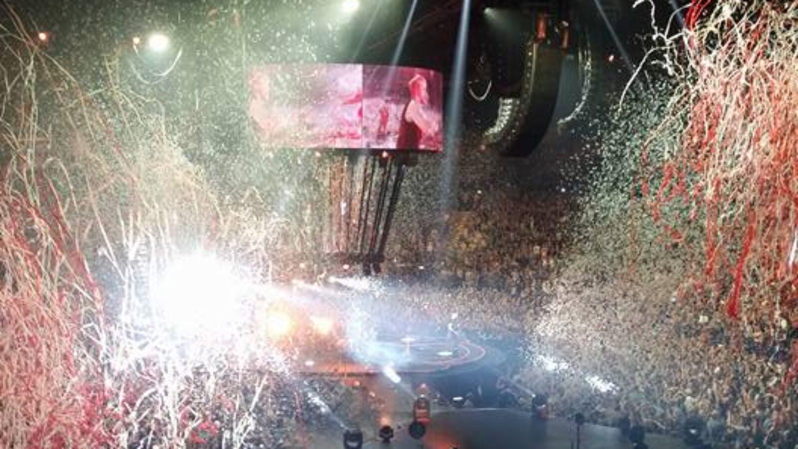 Muse am 6.6. in der Barclaycard-Arena