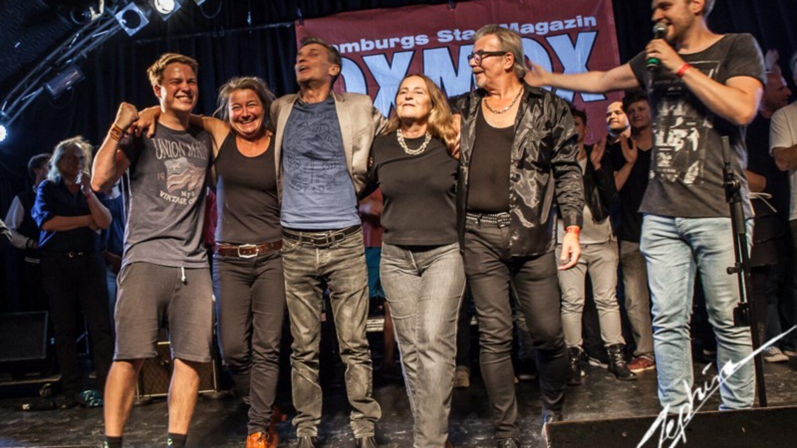 HAMBURG-BANDCONTEST Sieger 2016  FOOL´S PARADISE –  Von Hamburg nach Dänemark und zurück …