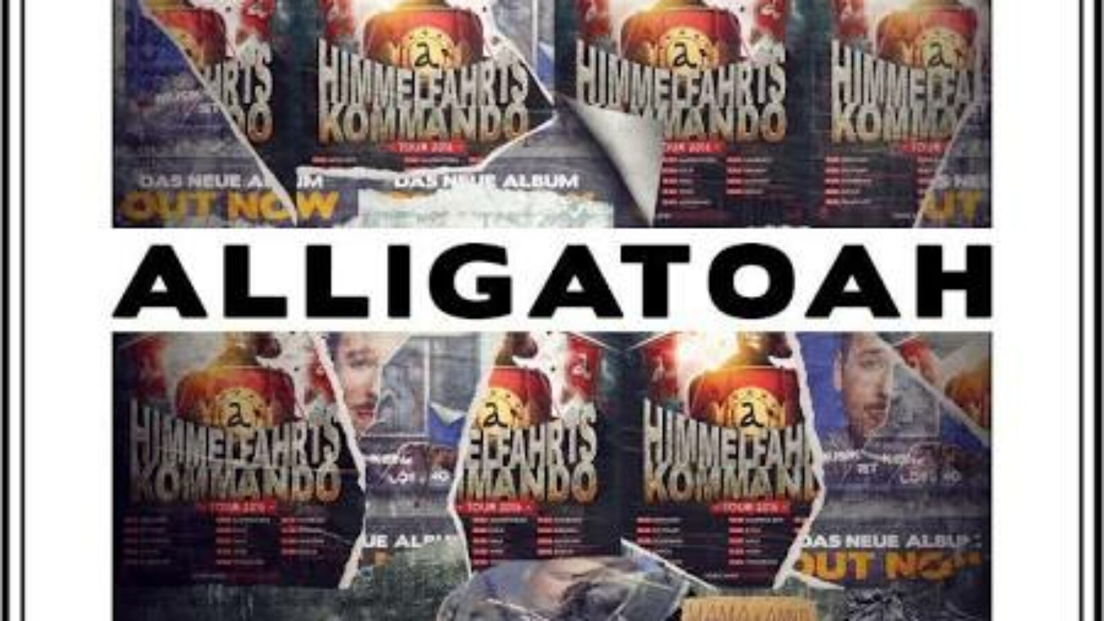 OXMOX CD-Tipp: ALLIGATOAH – Livemusik Ist Keine Lösung: Himmelfahrtskommando Tour
