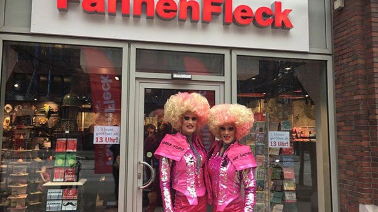 FahnenFleck – Der bunte Fleck Hamburgs wechselt seinen Standort