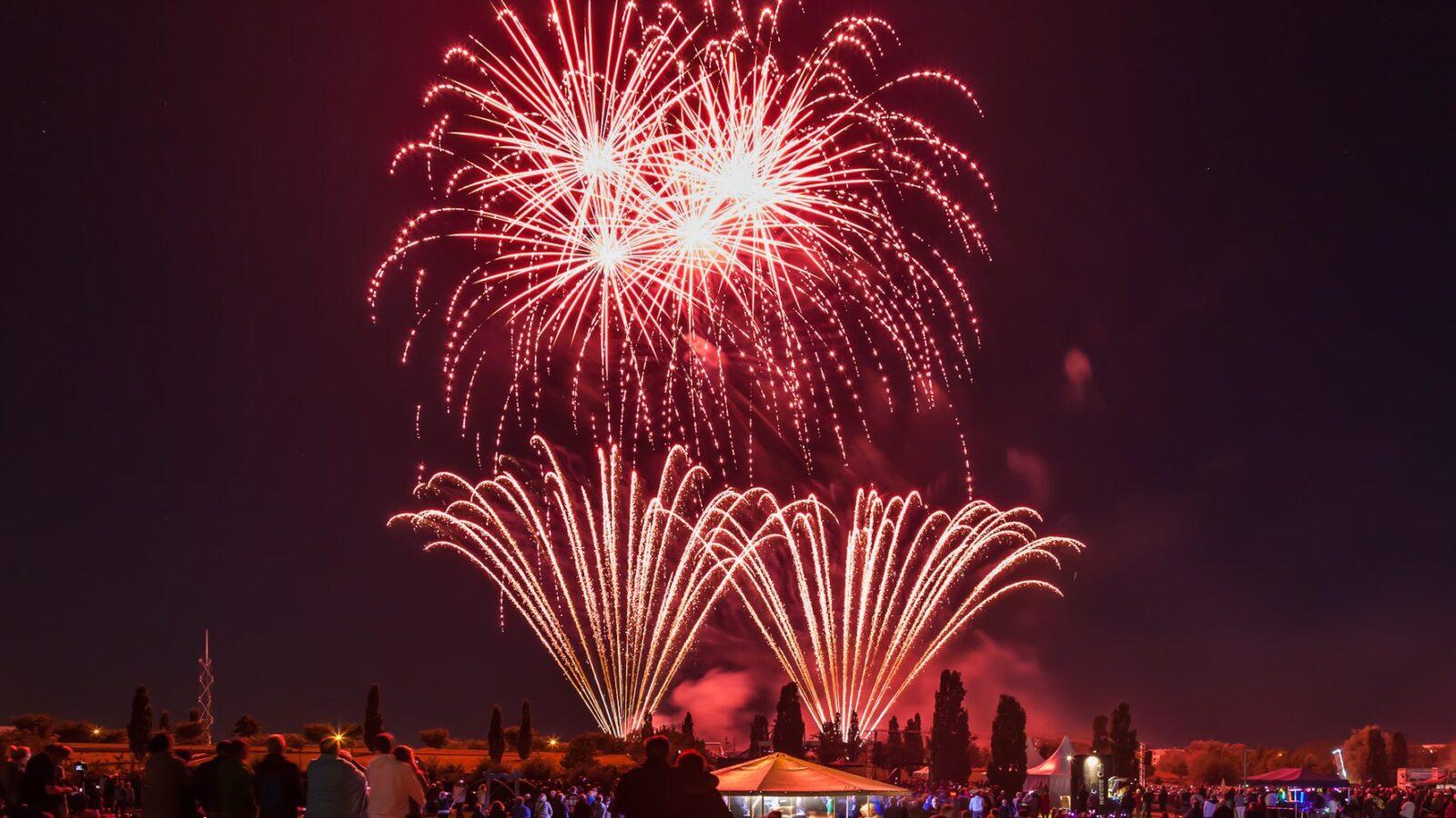 Das Duell der Feuerwerke