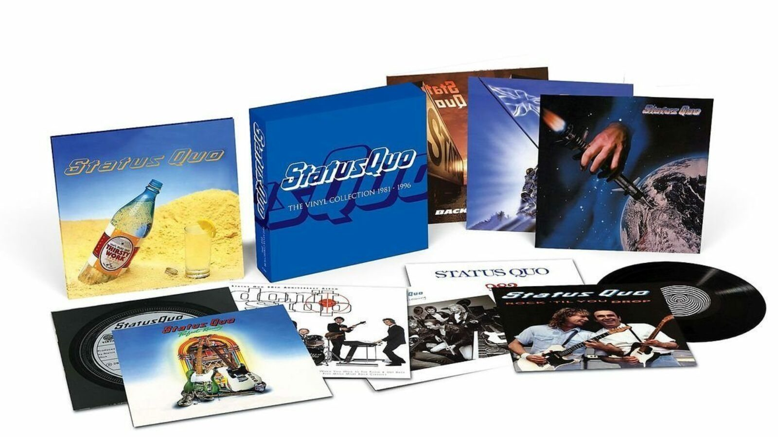 OXMOX CD-Tipp: STATUS QUO – The Vinyl Singles Collection 1972-1979/The Vinyl Collection 1981-1996