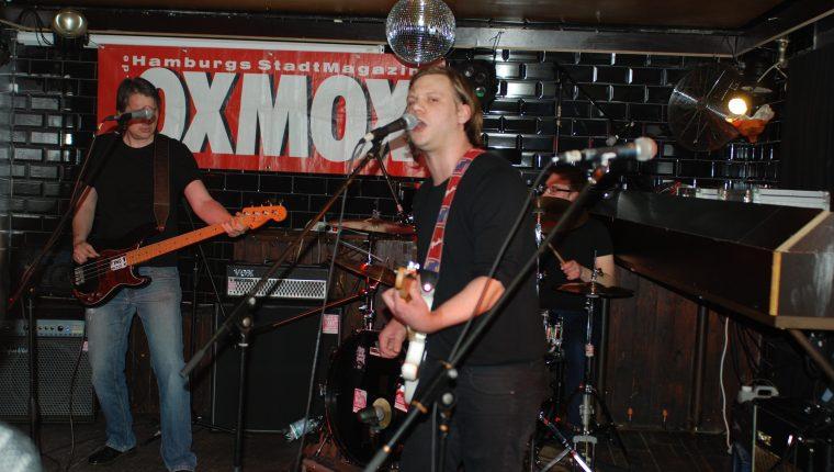 OXMOX PRESENTS: EXKL. FOTOS DER 32. HAMBURG-BANDCONTEST, VIERTELFINALE - Find Hutch! Melodic Punk aus Hamburg