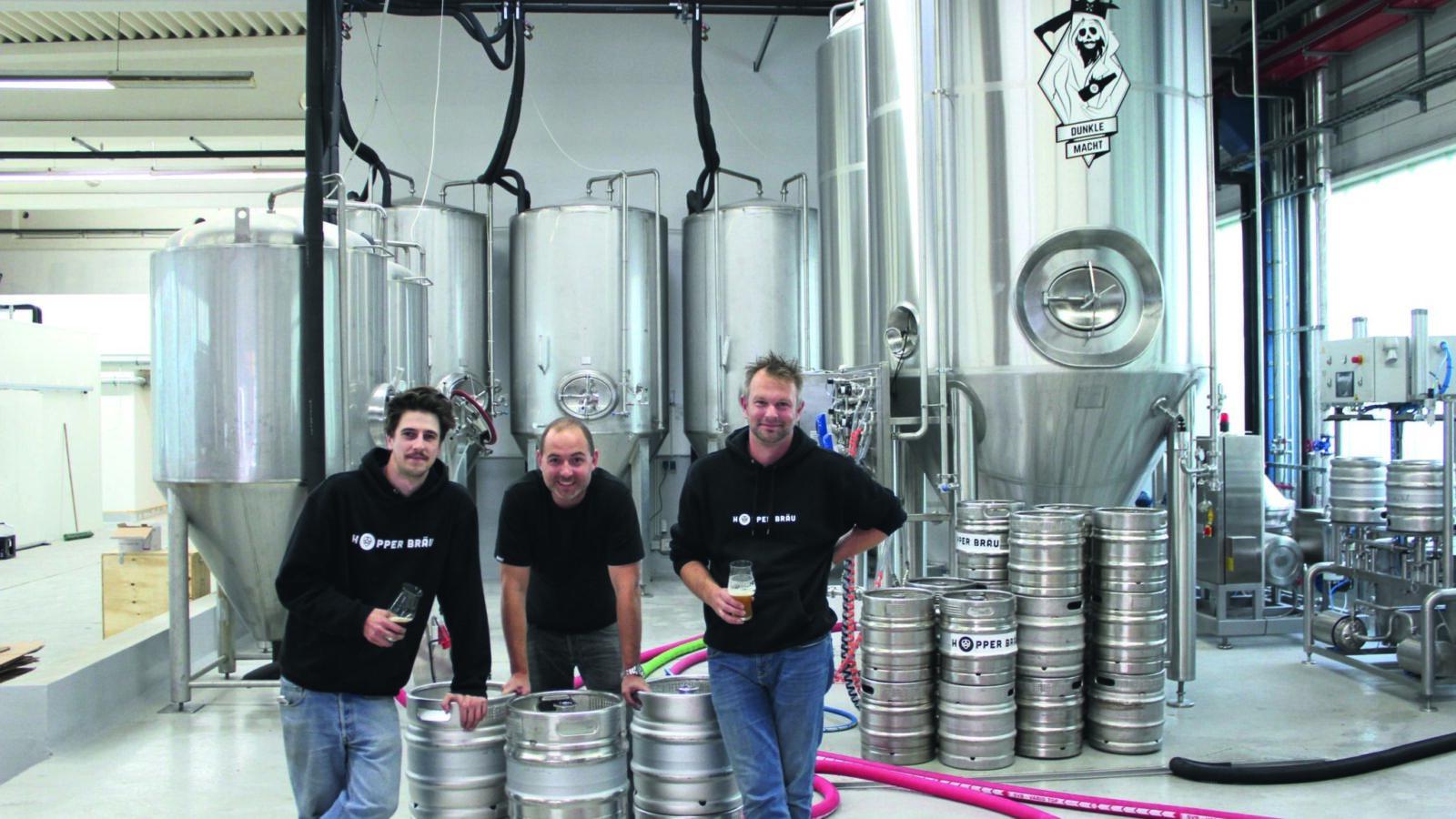 Einzigartige Biere & eine gläserne Brauerei