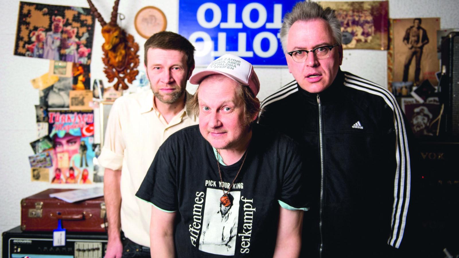 """Keine Zaehne im Maul aber La Paloma pfeifen im Gespräch zum aktuellen Album """"Die Biellmann-Pirouette"""""""