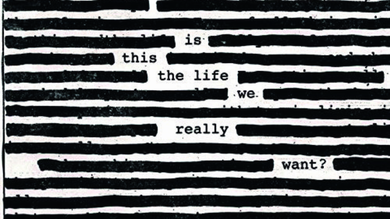 ROGER WATERS Is This The Life We Really Want?