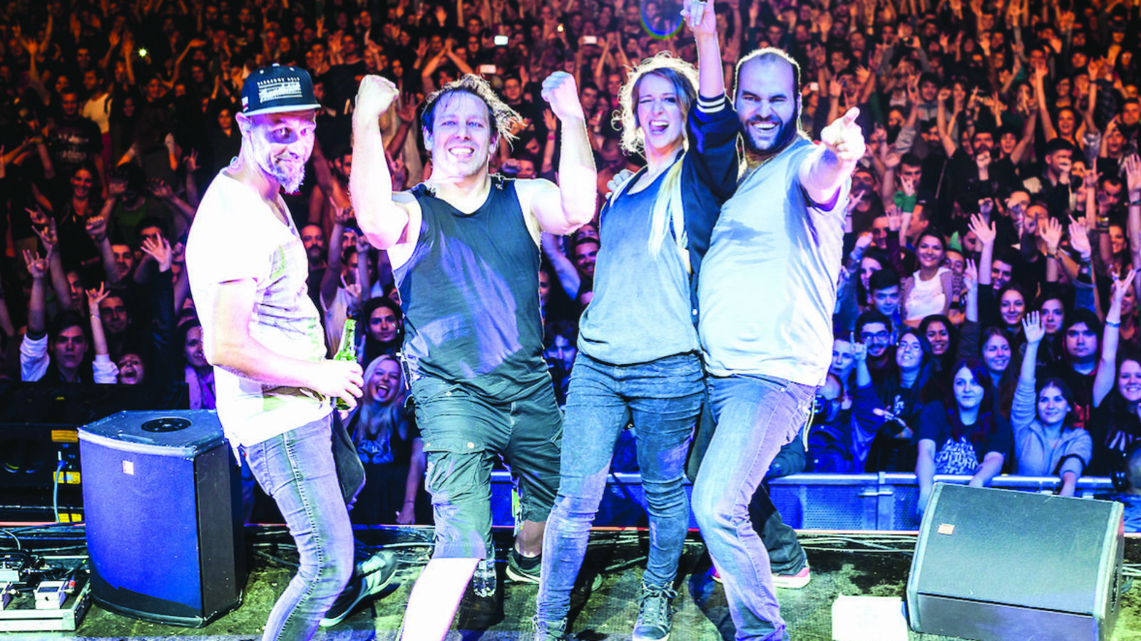 """OXMOX Präsentiert: Guano Apes """"Celebrating the 20th anniversary – Proud like a God"""""""