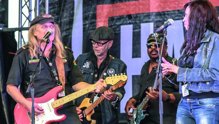 Klaus Schulz, Boogie Augustin, Reggie Worthy, Veronica Lee Hamburg Harley Days 2017