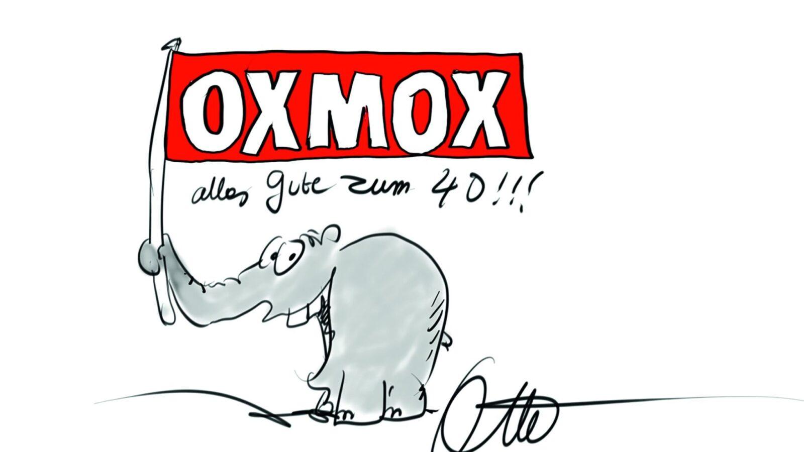 Otto Waalkes gratuliert OXMOX zum 40. Jubiläum!
