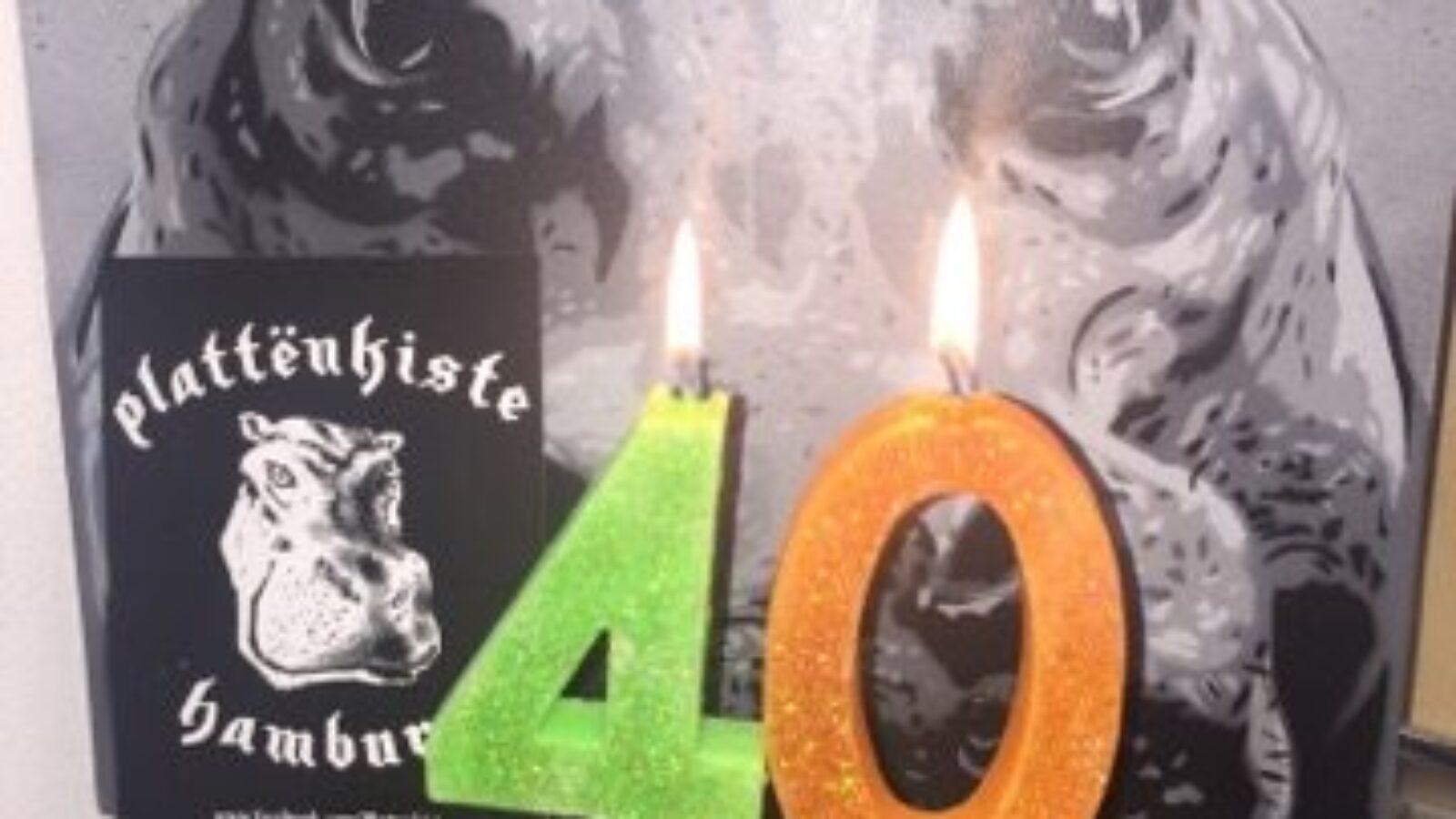 Die Plattenkiste gratuliert OXMOX zum 40. Jubiläum!