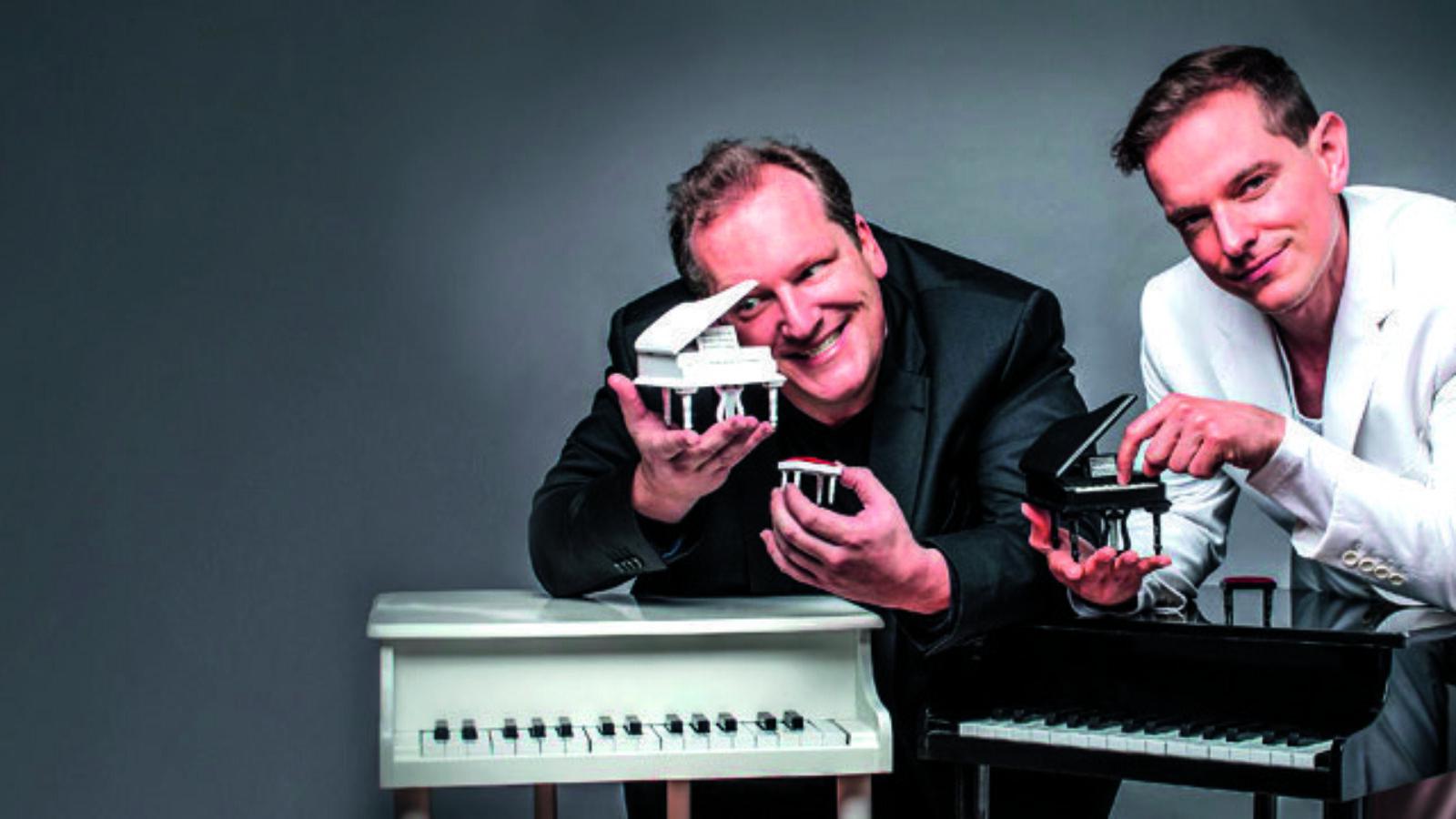 Theater-Tipps: David & Götz: Die Showpianisten  30.10., Komödie Winterhuder Fährhaus