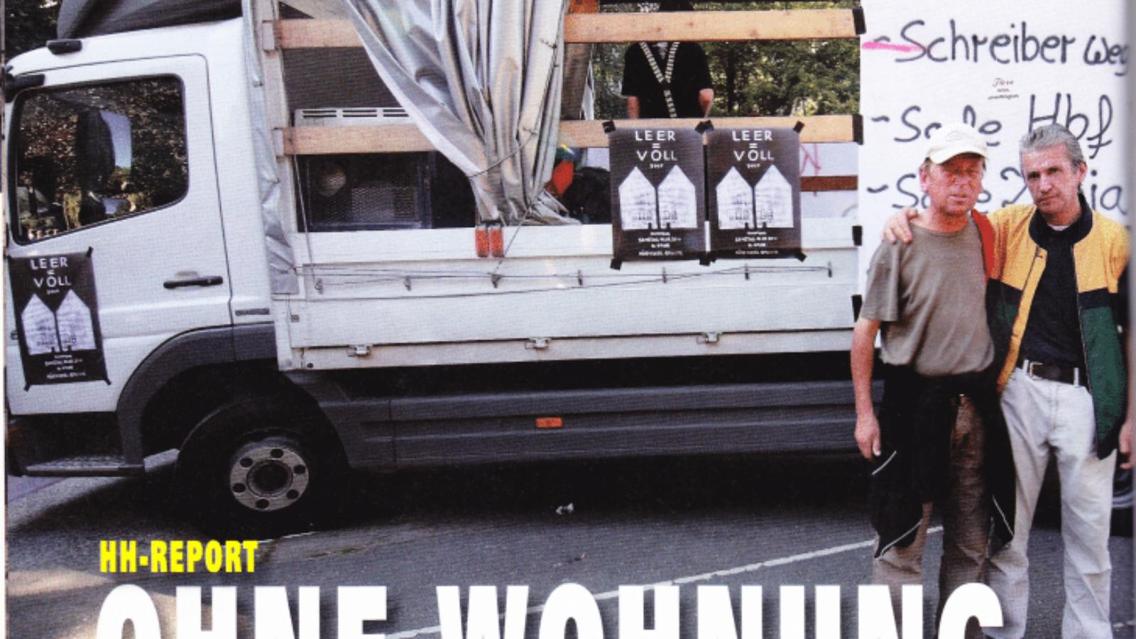 HH-Report – Ohne Wohnung