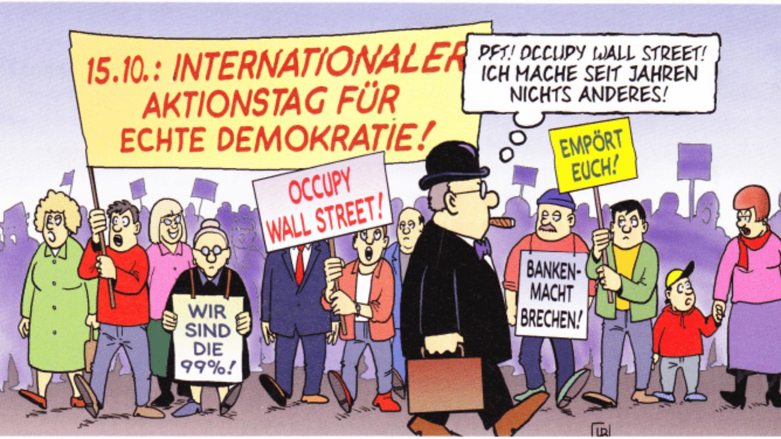 Occupy-Bewegung kritisch betrachten