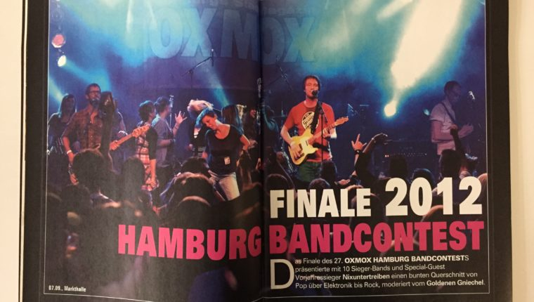 FINALE 2012 HAMBURG BANDCONTEST