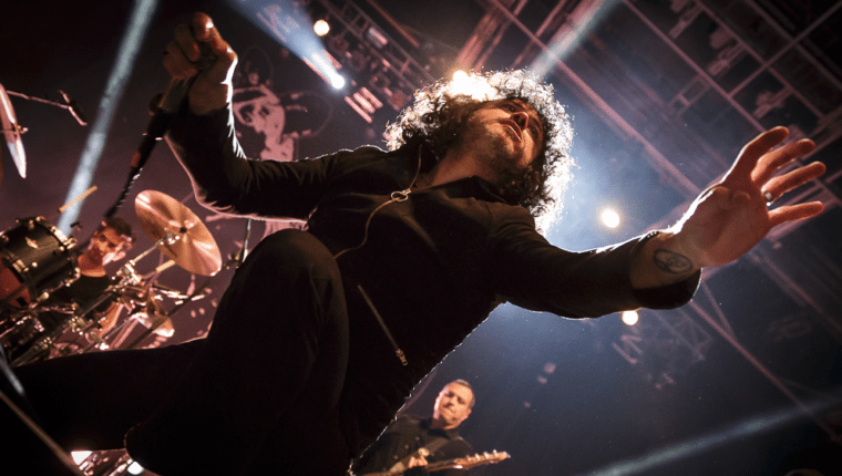 At The Drive In, 02.03., Sporthalle