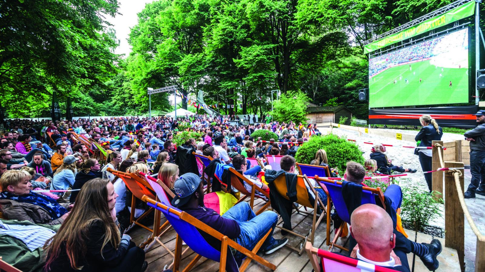 WM 2018 – Public Viewing in Hamburg