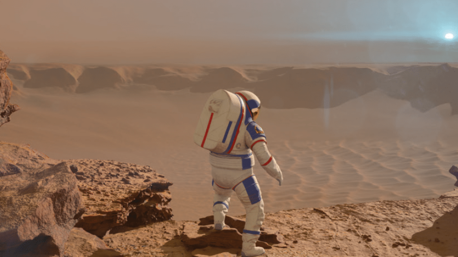 Mars 1001, bis 31.08., Planetarium Hamburg