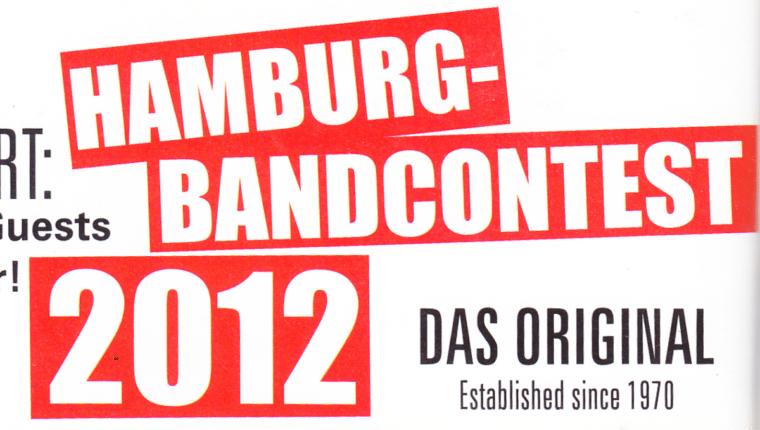 Hamburger Bandcontest 2012
