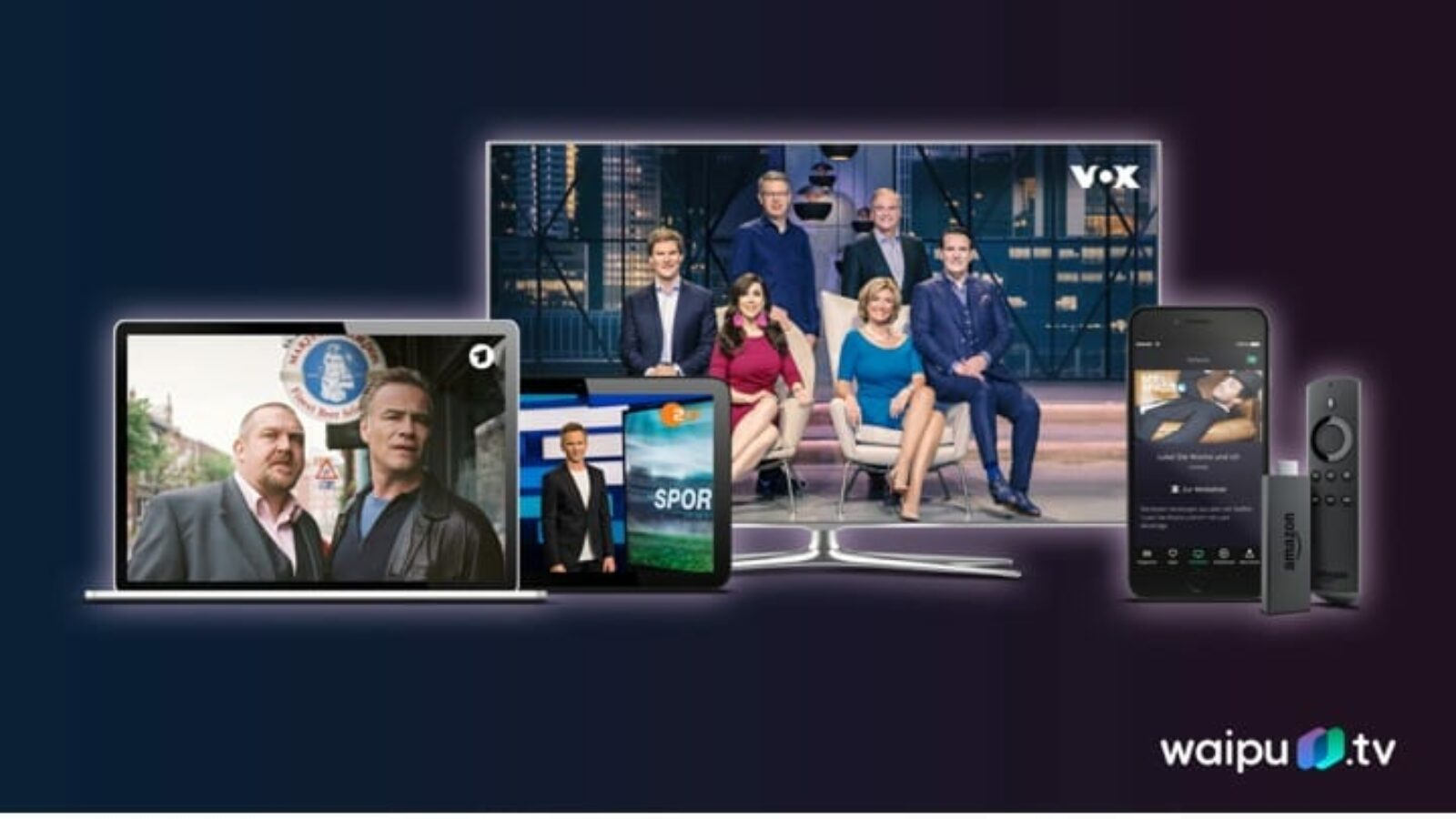 Flexibles Online-Fernsehen
