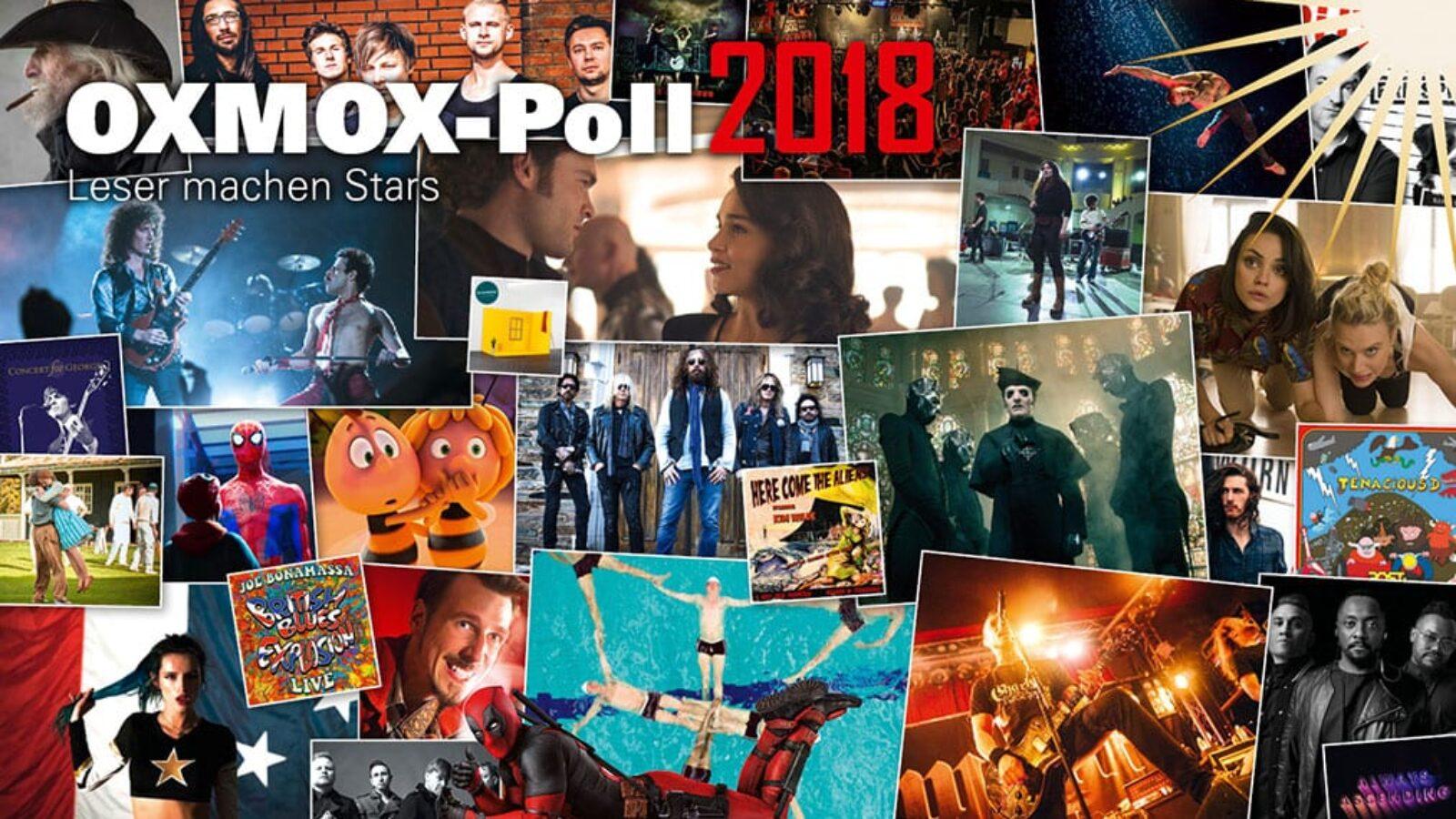 Leser machen Stars – Jahrespoll 2018