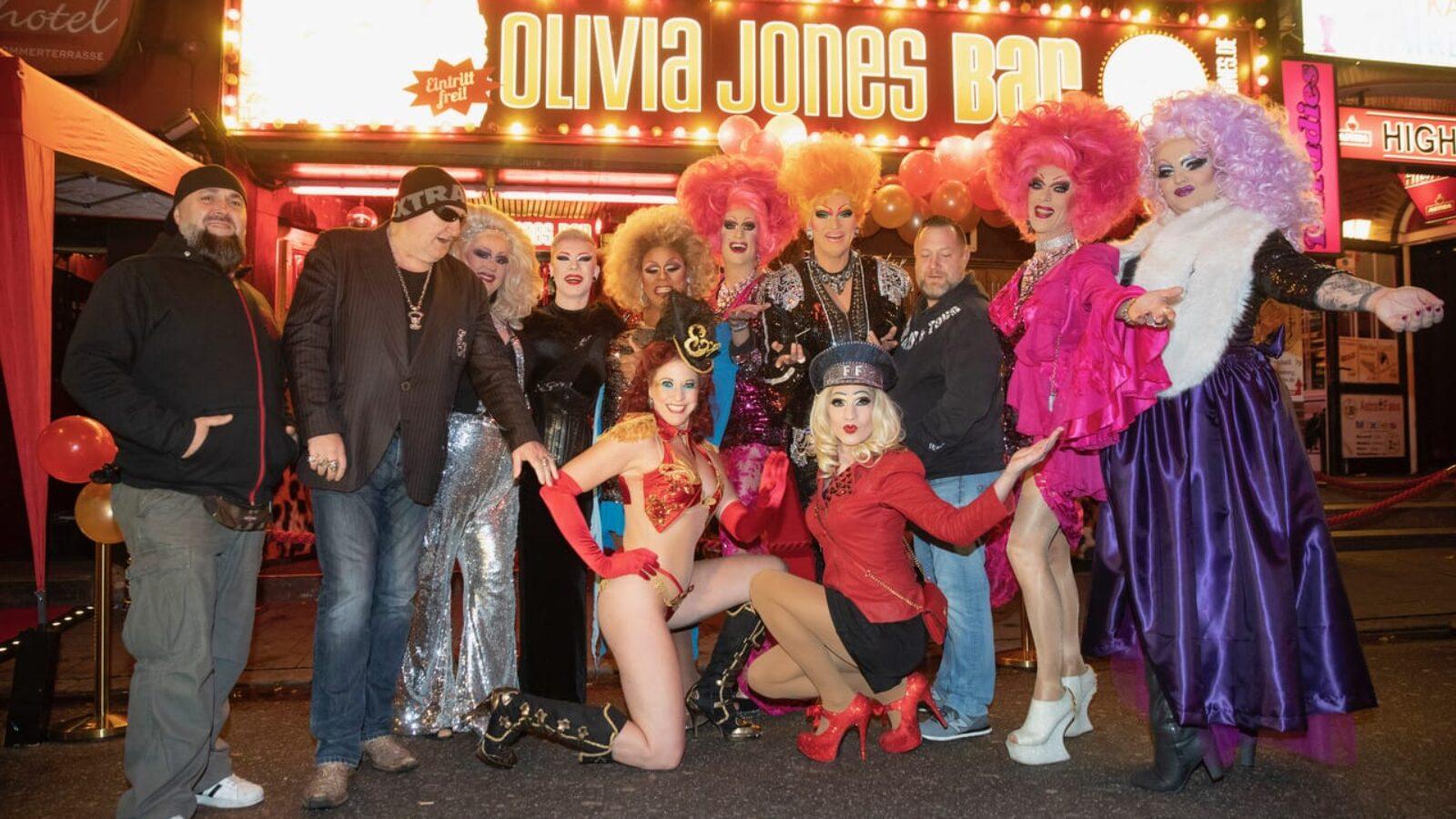 Olivia Jones Bar feiert Jubiläum
