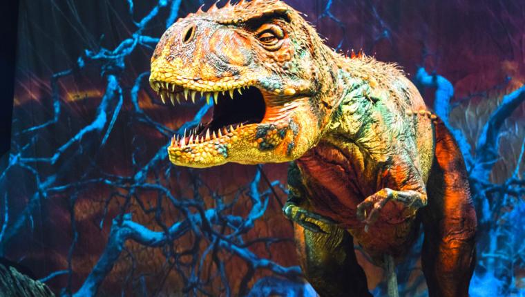 Dinosaurier – Im Reich der Giganten 01.02., Barclaycard Arena
