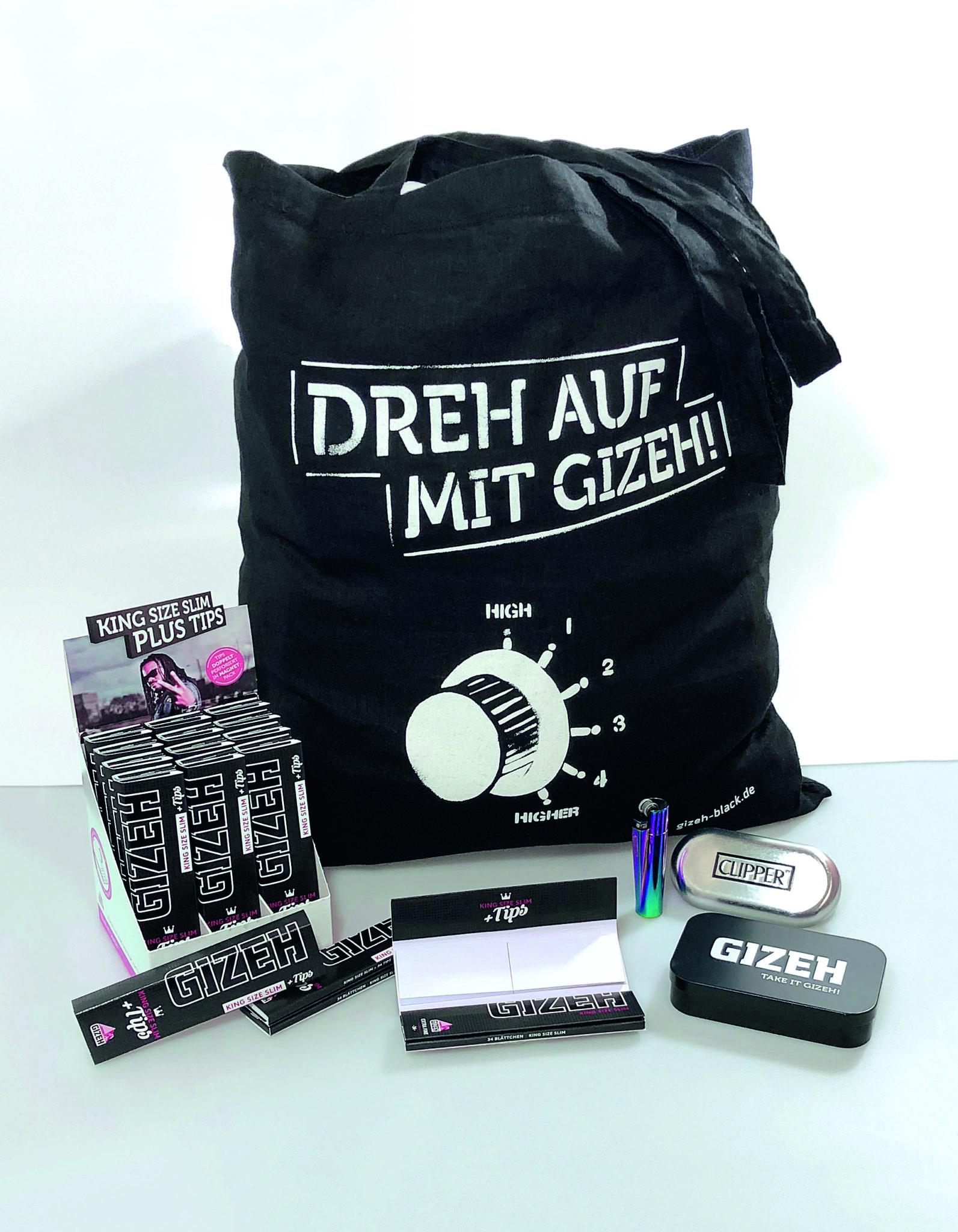Paket KSSClipper 191217 - Starte mit Gizeh in den Festivalsommer! + Verlosung