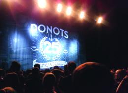 Review: Die Donots im Mehr! Theater