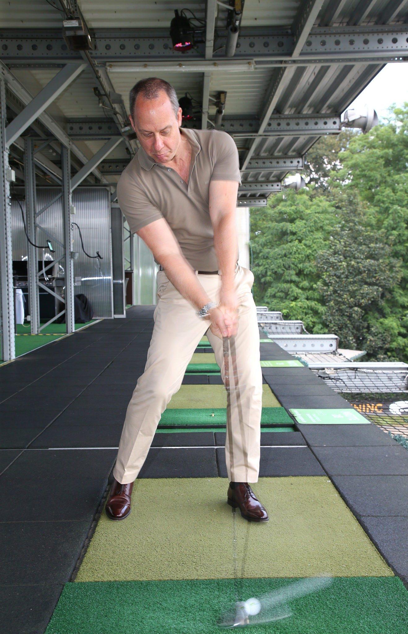 Virtual Golf – St. Andrews in der Golf Lounge Hamburg