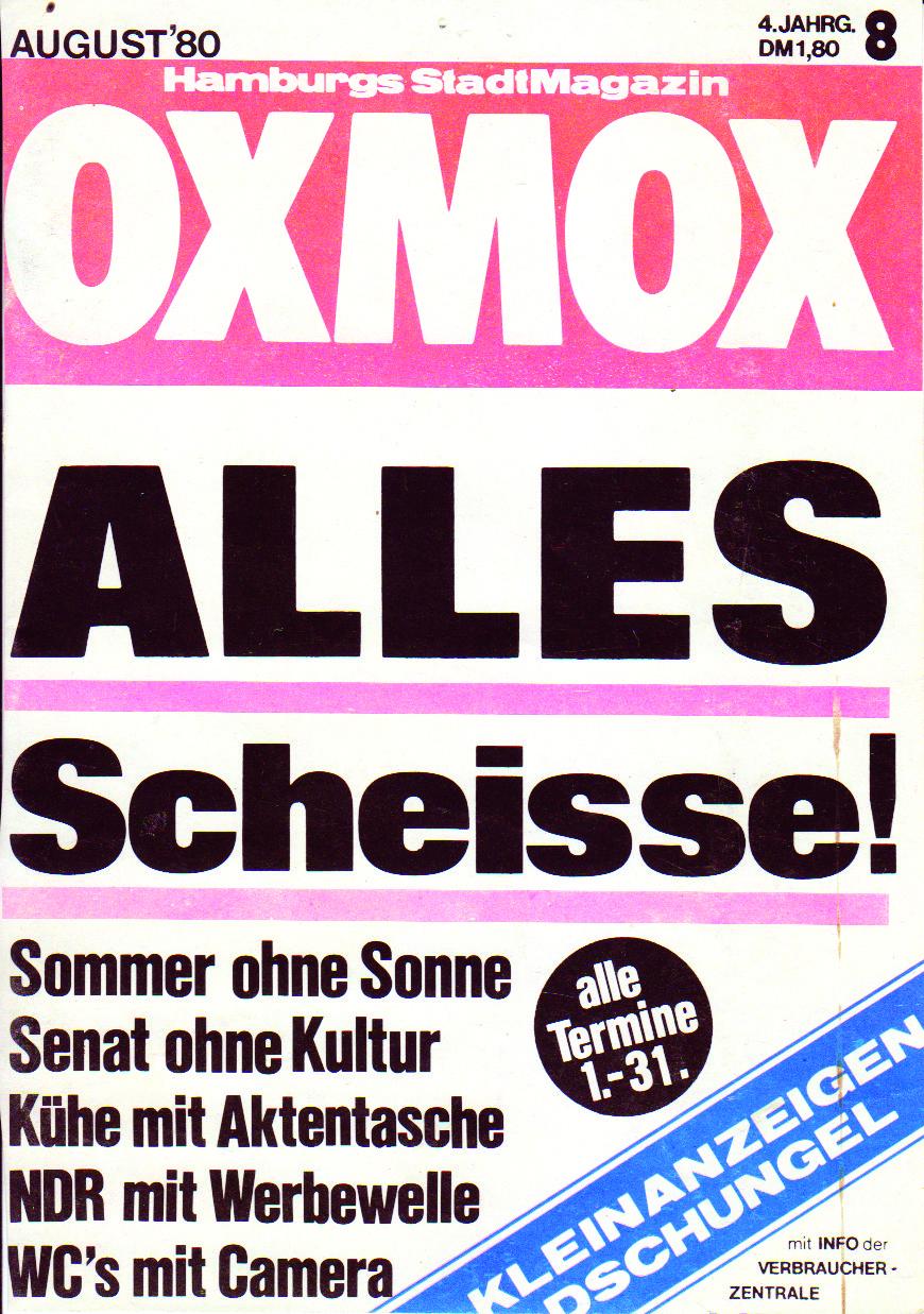 80.08 - DIE BESTEN OXMOX-TITEL AUS 500 AUSGABEN