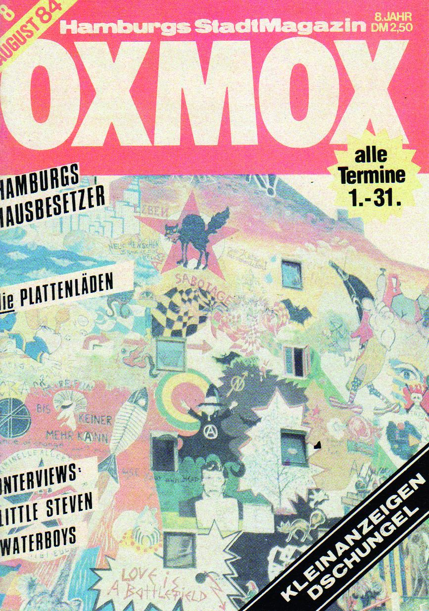 84.08 - DIE BESTEN OXMOX-TITEL AUS 500 AUSGABEN