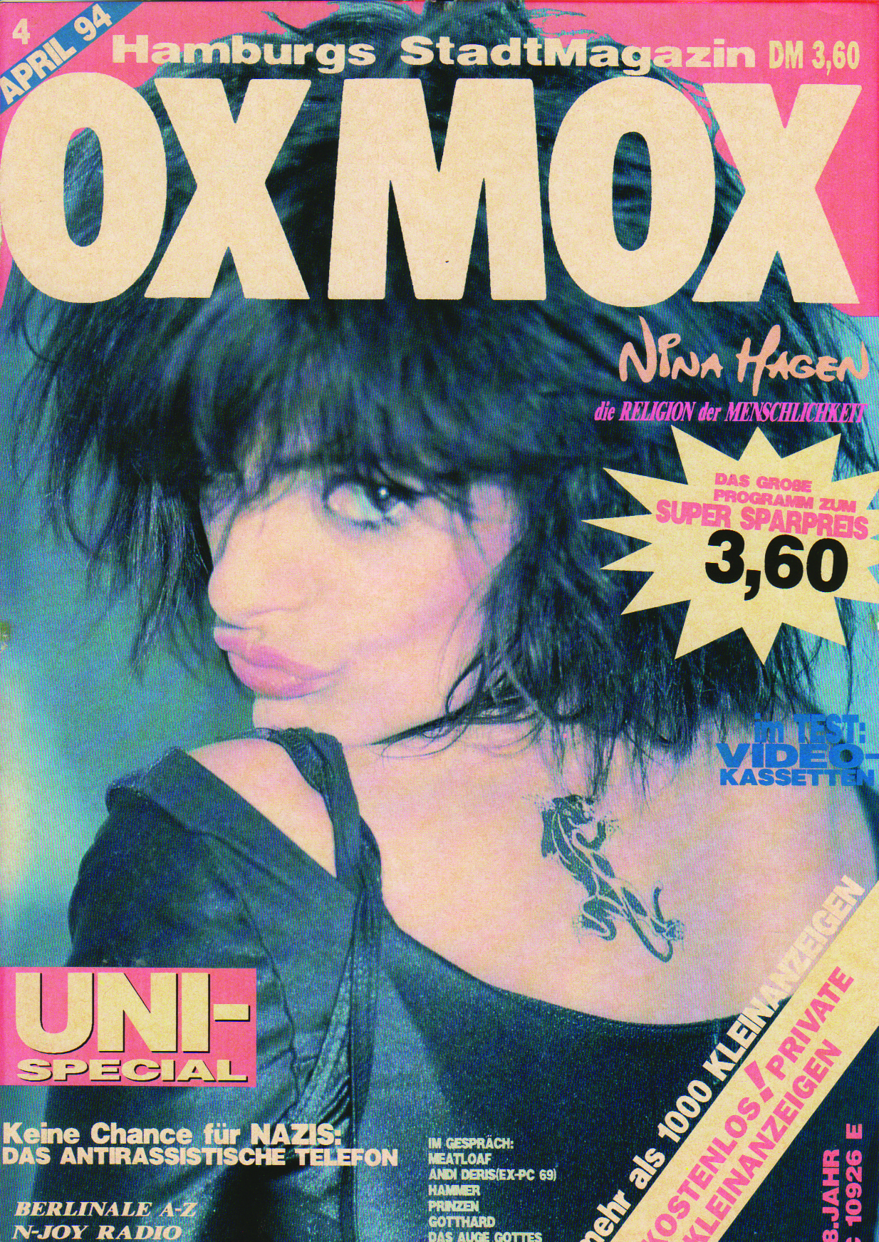 Die besten Titel aus 500 OXMOX-Ausgaben Teil II